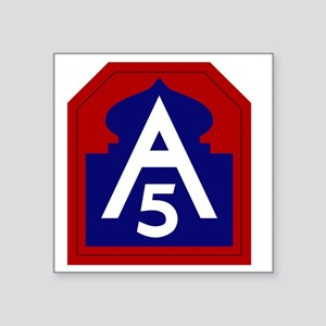 "5th Army - North - USARNORT Square Sticker 3"" x 3"""